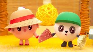Малышарики – 🐬🐚 Все серии про лето 🌊⛱️–  Обучающие мультфильмы для детей