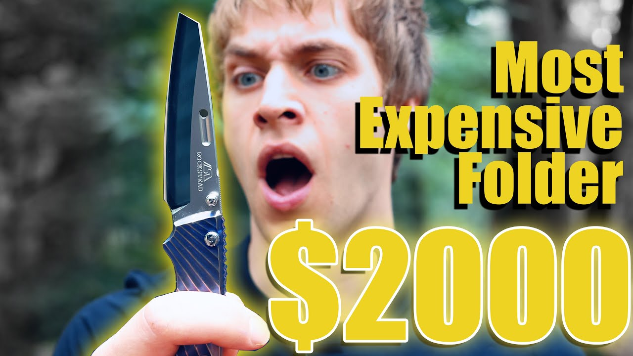 We FINALLY BOUGHT A ROCKSTEAD KNIFE... Most expensive folder ever!! | SCAM!!