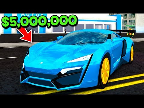 BUYING THE NEW $5,000,000 LYKIN HYPERSPORT SUPERCAR! *ROBLOX VEHICLE SIMULATOR!*