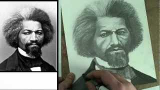 How to Draw Frederick Douglass Step by Step