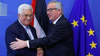 Abbas Brüksel'de AB liderleri ile görüştü