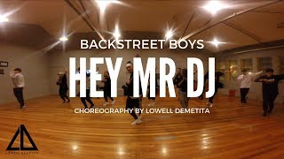 Download Lagu Backstreet boys - Hey Mr DJ Choreography by Lowell Demetita mp3
