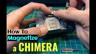 How To Magnetize a Chimera