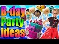 Birthday Party Ideas | Adventure Time! 1950s! Alice in Wonderland!