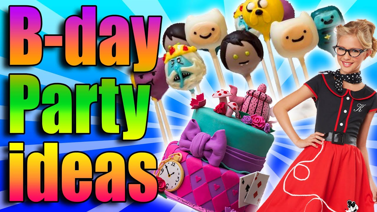 birthday party ideas adventure time 1950s alice in wonderland