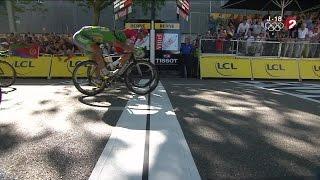 16e étape: la victoire à l'arrachée de Sagan devant Kristoff !