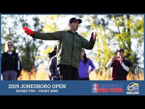 2019 Jonesboro Open - MPO Chase Card - R2F9 - Lizotte, McBeth, Dickerson, Presnell