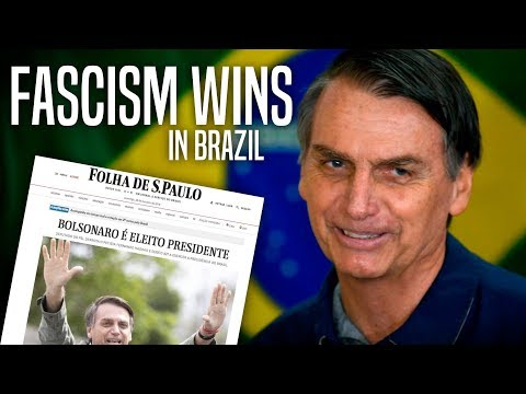 DISASTER: Brazil's New Far Right President is Like Trump on Steroids