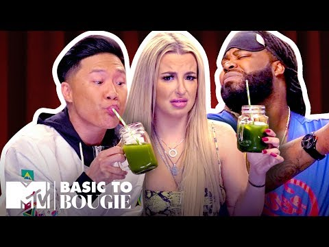 $1 Burritos 🌯 vs. $18 Kale Juice Feat. Tana Mongeau   Basic to Bougie Season 3   MTV