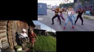 Kiesza-Hideaway & Боня и Кузьмич (пародия)