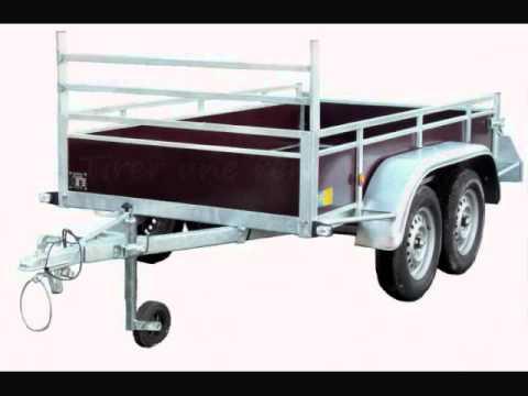 remorque double essieux youtube. Black Bedroom Furniture Sets. Home Design Ideas