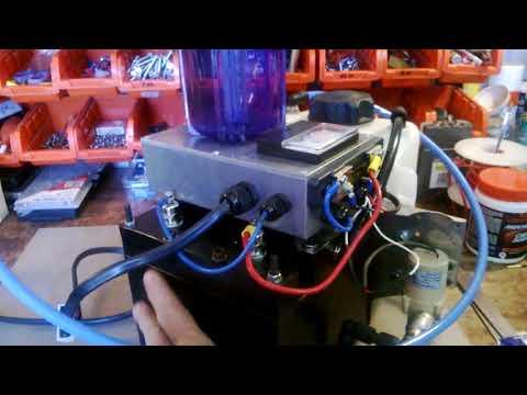 Hydrogen 118  generator for Motor Homes n Campervans-save fuel