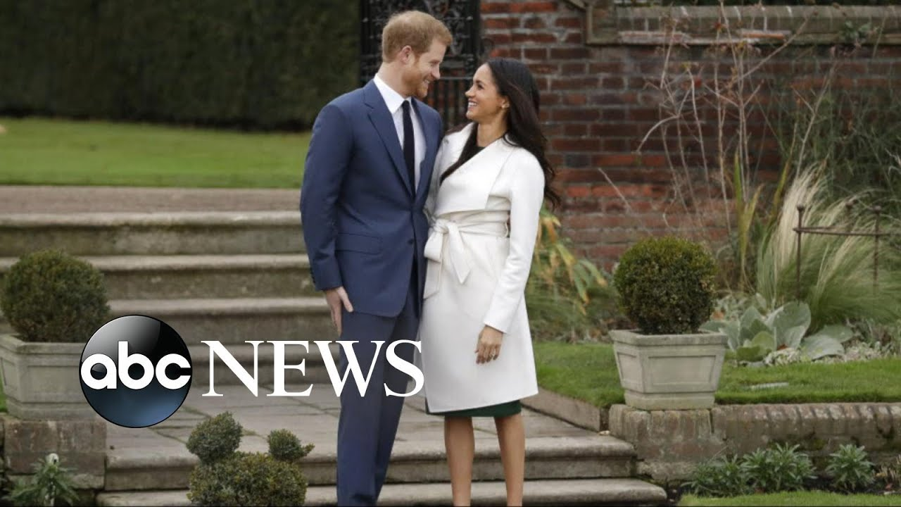 Countdown begins for Prince Harry and Meghan Markle's wedding
