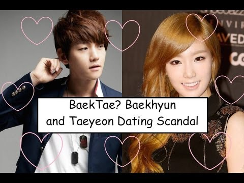 Netizens debate whether Baekhyun and Taeyeon are still dating