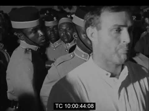 Lt. Gen. Kotoka | Assassinated Ghana Military Leader | Lying in State | Accra Cathedral | April 1967