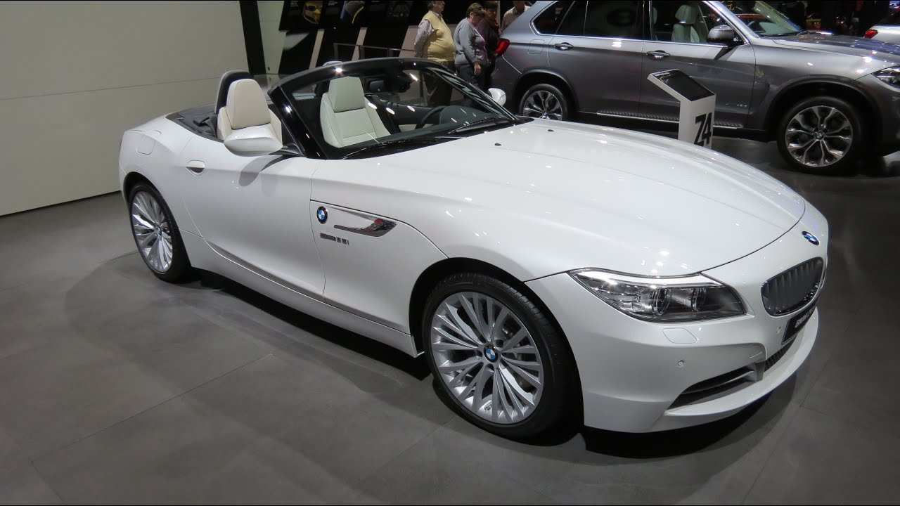 2015 Bmw Z4 Sdrive 35is At The 2014 Naias Auto Show Youtube