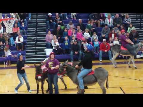 Serena High School teachers Donkey basketbal