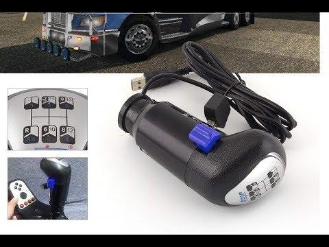 American Truck Simulator SKRS USB Shift Knob Setup with Logitech G25 - G27 - G920
