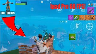 Fortnite Mobile 60 FPS Gameplay (Solo Win Bot Lobby)