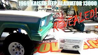 CAMPING WITH COLEMAN | 1969 KAISER JEEP GLADIATOR J3000 | REVEALED!