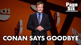 Conan O'Brien ending late-night show after 28 years | Page Six Celebrity News