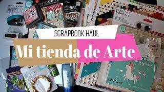 Compras Haul Scrapbook | Mi tienda de Arte | Rebajas de Verano