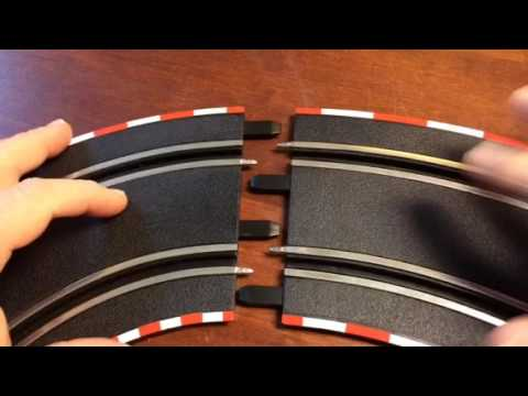 How to take apart GO track – Carrera slot cars