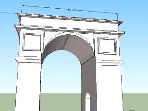 how to draw an arc openframeworks