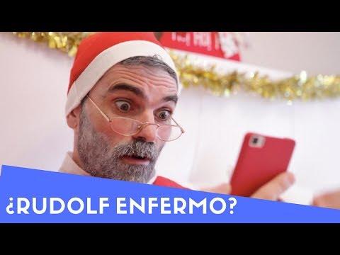Urgente: Los renos de Santa Claus están enfermos ?  ¿Cómo repartirá los regalos de Navidad?