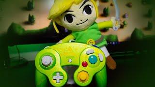 Custom Smash Bros Zelda Gamecube Controller - Controller Chaos (Video Game Video Review)