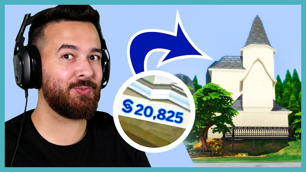 I have $20,825 to build a house in The Sims thumbnail