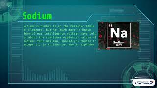 Sodium: element 11