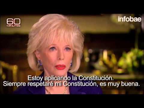 Mauricio Macri en el mítico 60 minutes de la cadena CBS (2)