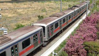 東急5080系5182F J-TREC入場(甲種輸送)