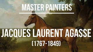 Jacques Laurent Agasse (1767-1849) - A collection of paintings 2K Ultra HD Silent Slideshow