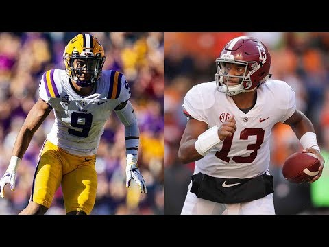 #1 Alabama vs. #3 LSU Full Game Highlights | CFB 2018