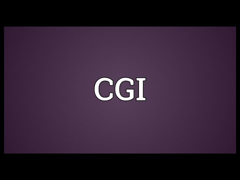 CGI Meaning