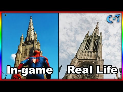 Marvel's Spider-Man New York VS Real Life New York