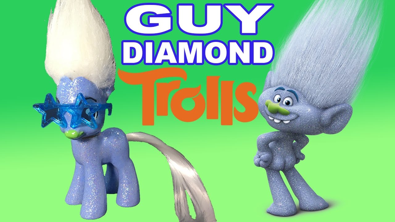 Guy Diamond Troll Cake
