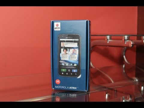 Motorola Atrix 4G Unboxing (HD)