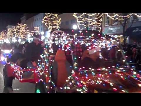 Tecumseh Michigan Christmas Parade 2009