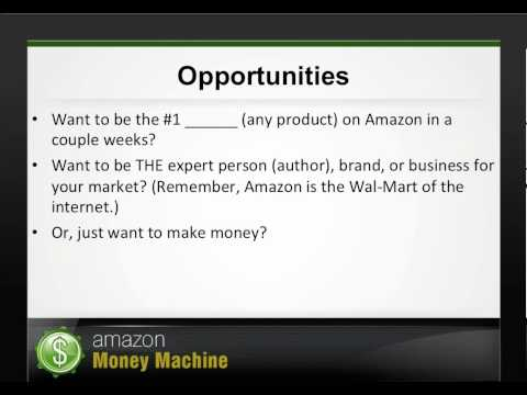 Webinar:  Money With Amazon.com As An Amazon Partner Officia