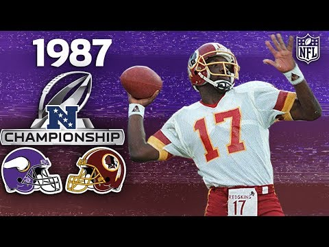 How One Drop in the 87 NFC Championship Changed the NFL Forever | NFL Vault Stories
