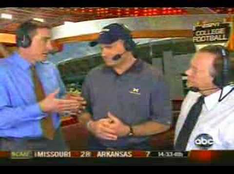 Rich Rodriguez Interview at the 2008 Capital One Bowl