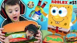 Escape Spongebob Krusty Krab Obby  Fgteev Roblox #51