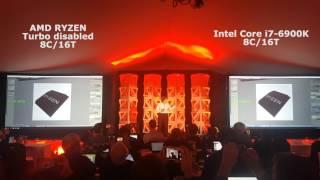 amd ryzen 3 4 ghz vs intel core i7 6900k