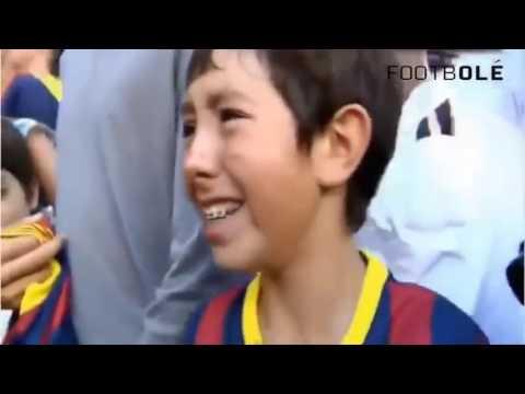 Reakcja dzieciaków na idoli futbolu - BEST FAN.