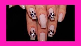 Быстрый рисунок на ногтях - Красивые Ногти