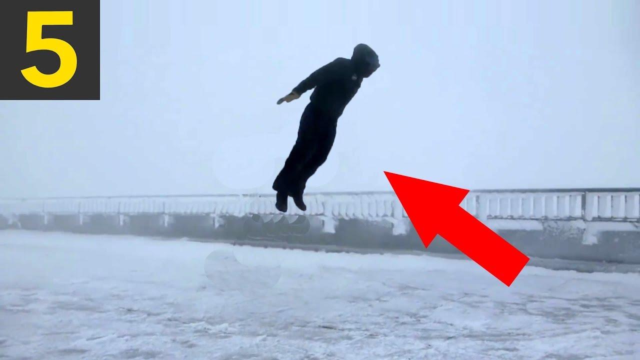5 Wind VS Pedestrians - People Blown Away