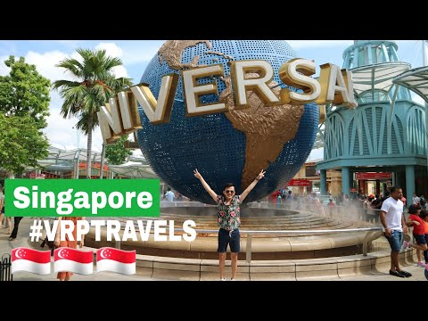 Singapore Travel Vlog #VanityTravels